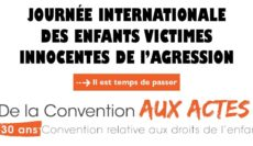 Journée Internationale des Enfants victimes innocentes d'agression