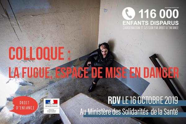 colloque Droit d'Enfance et 116 000 Enfants Disparus