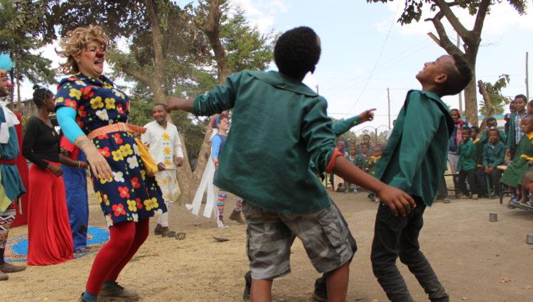 Clowns Sans Frontières vous invite à sa soirée retour d'Ethiopie