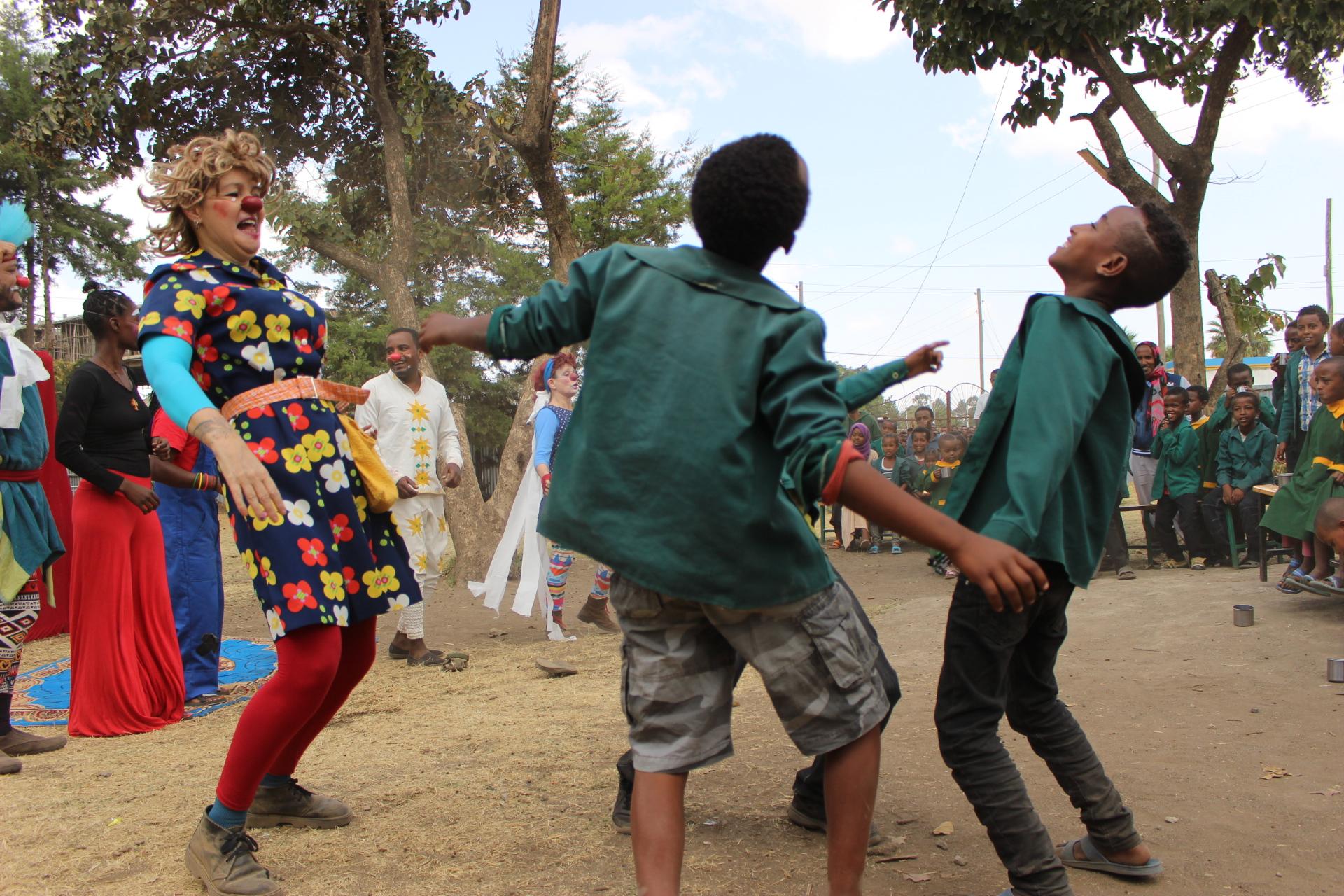 Clowns Sans Frontières © Ethiopie 2019