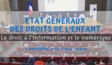 2ème édition des Etats Généraux des droits de l'enfant du COFRADE : Droit à l'information et le numérique