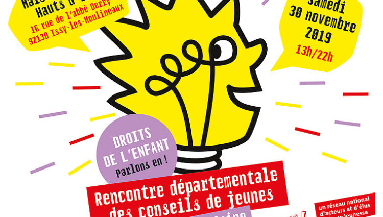 Le 30 novembre participez à la Rencontre départementale des Conseils des jeunes du 92
