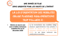 France: La loi d'orientation des mobilités oblige plusieurs agglomérations trop polluées à mettre en œuvre une zone à faibles émissions mobilité d'ici au 31 décembre 2020