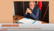 Interview de Patrick Weiten, président du Conseil départemental de la Moselle