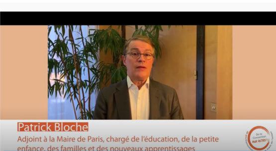 Éducation des jeunes: interview de Patrick Bloche