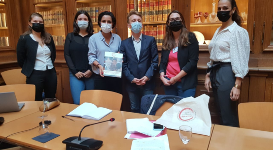 Sarah El Haïry rencontre la Dynamique de la Convention Aux Actes